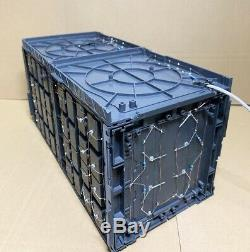12 LED Light Display Case Machine Nest Base for Action Figure model Gundam etc