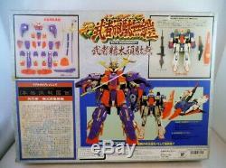 1989 Bandai Japan DX Musha Cloth Zeta Gundam MIB Robotech Chogokin Godaikin