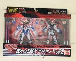 BANDAI G Gundam MS IN ACTION! Figure God & Shining Final Duel Set Toy fr Japan