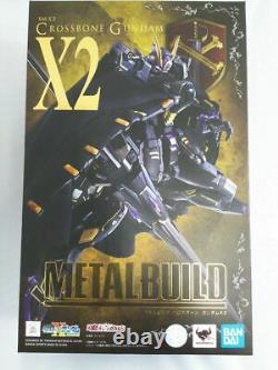 BANDAI METAL BUILD CROSSBONE GUNDAM X2 ACTION FIGURE Japan