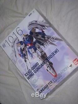 BANDAI METAL COMPOSITE FIX FIGURATION Gundam Wing Zero EW