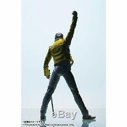 BANDAI S. H. Figuarts Freddie Mercury Queen Action Figure with Tracking NEW