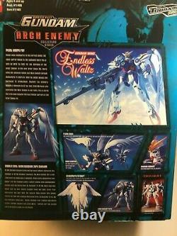 Bandai Arch Enemy Mobile Suit Gundam Wing Zero Custom Action Figure