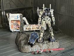Bandai Battle Scarred Mobile Suit Fighter Gundam Seed Duel Action Figure MSIA