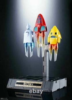 Bandai GX-74 & GX-91 Trio Getter 1 2 & 3 Dynamic Classic Set Soul of Chogokin