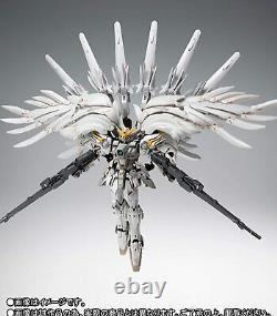 Bandai Gundam Fix Figuration Metal Composite Wing Gundam Snow White Prelude New
