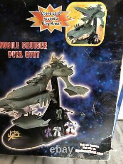 Bandai Gundam Mobile Suit Cruiser Peer Gynt Deluxe Battleship Playset 2001