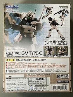 Bandai Gundam Robot Spirits Damashii RGM-79C GM Type C Custom Action Figure