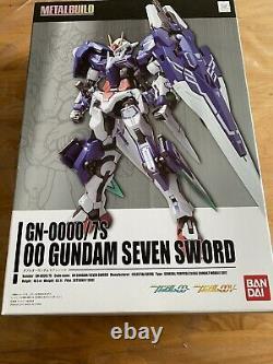 Bandai METAL BUILD Double oo Gundam Seven Sword Action Figure