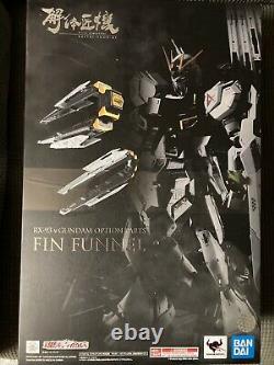 Bandai Metal Structure RX-93 V Robot Nu Gundam Fin Funnels Lot Action Figure
