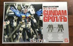 Bandai Mobile Suit Gundam 0083 GP-01 FB GP01 Gundam Perfect Grade 1/60 Model Kit