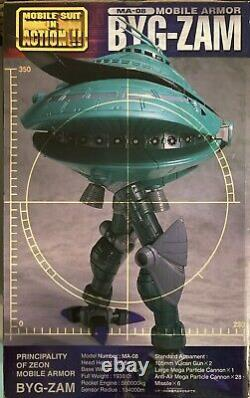 Bandai Mobile Suit Gundam Fighter Byg Big Zam Armor MS In Action Figure Msia