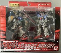 Bandai Mobile Suit Gundam Stardust Memory GP-01 Vs GP-02 Action Figure Msia