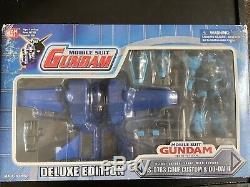 Bandai Mobile Suit Gundam Zeon Gouf Custom Action Figure Msia weapon lot