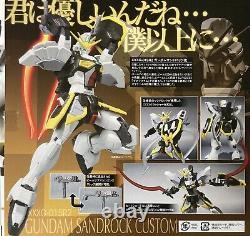 Bandai Robot Spirits Damashii Mobile Suit Gundam Sandrock Custom Action Figure