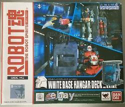 Bandai Robot Spirits Damashii Mobile Suit Gundam White Base Hangar Action Figure
