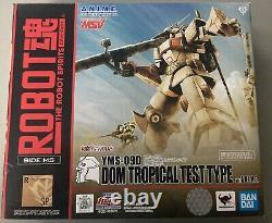 Bandai Robot Spirits Mobile Suit Gundam Dom Tropical Test Type Action Figure
