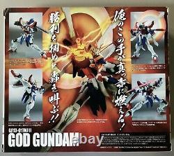 Bandai Robot Spirits Mobile Suit Gundam Fighter Burning God Action Figure