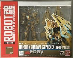 Bandai Robot Spirits Mobile Suit Gundam Unicorn Phenex Destroy Action Figure
