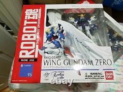 Bandai Robot Spirits Wing Gundam Zero R-Number 95 Action Figure New