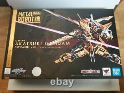 Bandai Spirits METAL ROBOT Soul Akatsuki Gundam equipped with sea eagle Used