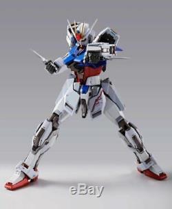 Bandai Tamashii Nations Metal Build Gundam Seed Aile Strike Gundam Action Figure