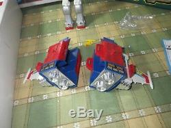 Clover Gundam Chogokin DX Gattai Set RX-78 MOBILE SUIT From Japan Used