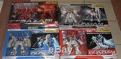 DX MSIA big scale Gundam Gp01Fb Gp02A Nu Sazabi lot of 4