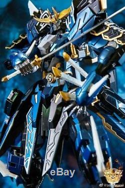 Devil Hunter Samurai Gundam Action Figure Alloy Model Finished Robot Toy Kit New