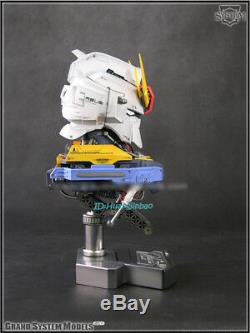 GSM 1/24 MSZ-006 Z GUNDAM Head Action Figure Painted LED Light Model Collection
