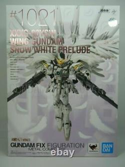 GUNDAM FIX FIGURATION METAL COMPOSITE Wing Gundam Snow White Prelude anime