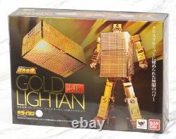 GX-32G24 Soul of Chogokin Gold Lightan 24 Gold Plated Finish Bandai Tamashii SOC
