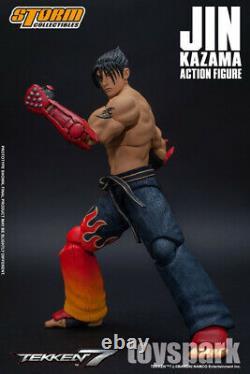 IN STOCK STORM COLLECTIBLES Tekken 7 JIN KAZAMA action figure