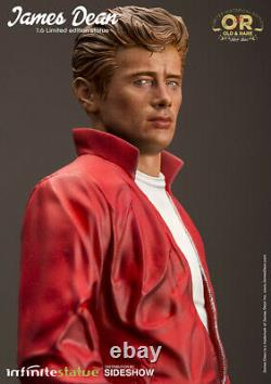 JAMES DEAN Rebel Without a Cause Old & Rare Infinite Statue Sideshow 16 Scale