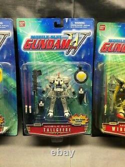 Lot Of 5x Mobile Suit Gundam Wing Shenlong Gundam Action Figure Bandai 2000 NIB