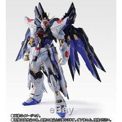 METAL BUILD ZGMF-X20A STRIKE FREEDOM GUNDAM SOUL BLUE Ver Figure BANDAI NEW