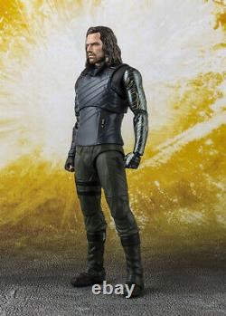 Marvel Avengers Infinity War BUCKY The Winter Soldier SHFiguart Bandai Tamashii