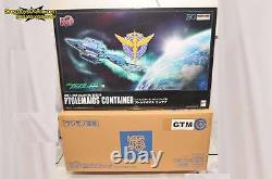 Megahouse Realistic Model Series 1/144 Hg Gundam 00 Ptolemaios Container New