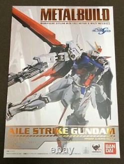 Metal Build Aile Strike Gundam Bandai Action Figure