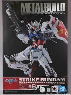 Metal Build Infinity Limited GAT-X105 Strike Gundam action figure Bandai
