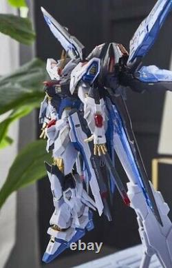 Metal frame 1/100 Seed Destiny Strike Freedom diecast Gundam Action Figure