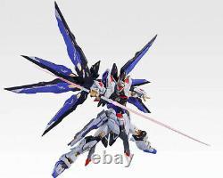 Metalframe Seed Destiny Soul Blue Strike Freedom diecast Gundam Action Figure