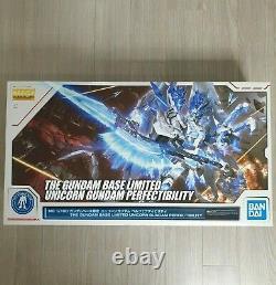 Mg 1/100 Gundam Unicorn Perfectibility Gundam Base Limited