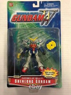 Mobile Suit Gundam Wing Shenlong Gundam Figure Bandai 2000