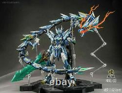 Motor Nuclear MN-Q03 Blue Dragon 1/72 Metal Build Action Figure in stock