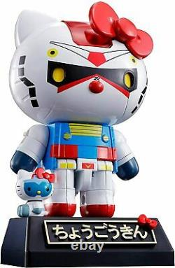NEW Sanrio Hello Kitty as Gundam Chogokin Action Figure by Tamashii Nations