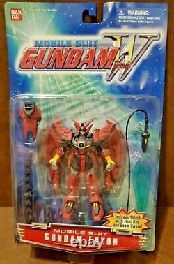 New Sealed Bandai Gundam Wing Gundam Epyon Suit 4.5 Action Fig Rare