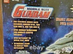 New Sealed Gundam Mobile Suit Cruiser Peer Gynt Deluxe Battleship Playset Bandai