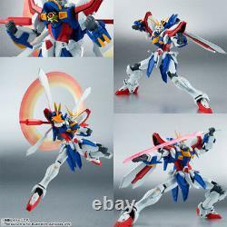 Robot Soul Spirits Tamashii 168 God G Gundam action figure Bandai C9-10