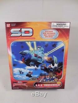 Superior Defender Gundam Gundamforce Mothership Sdg Gundamusai Sealed Mib Bandai